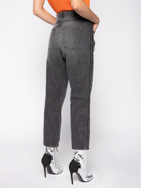 Diesel Diesel Jeansy D-Aryel 00SE6T 0096I Szary Straight Fit