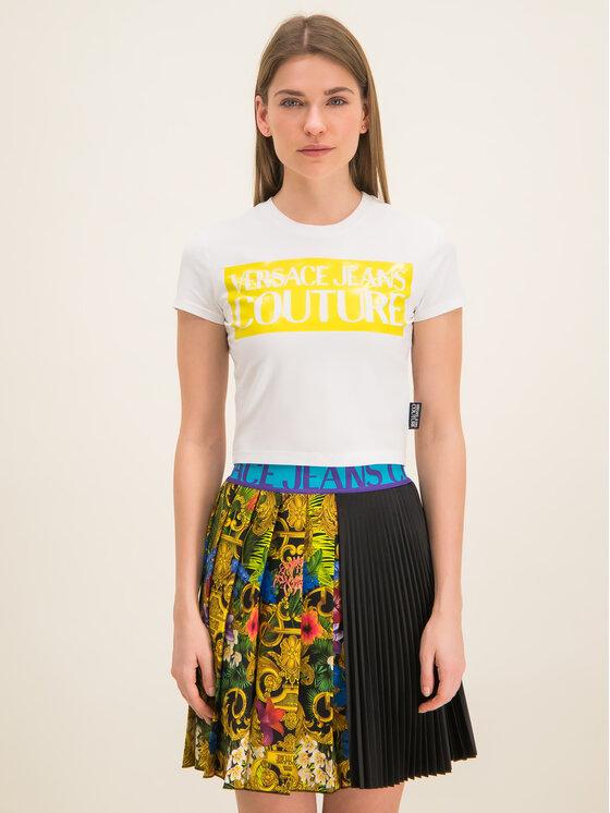 Versace Jeans Couture Versace Jeans Couture T-Shirt B2HVA7V6 Λευκό Slim Fit