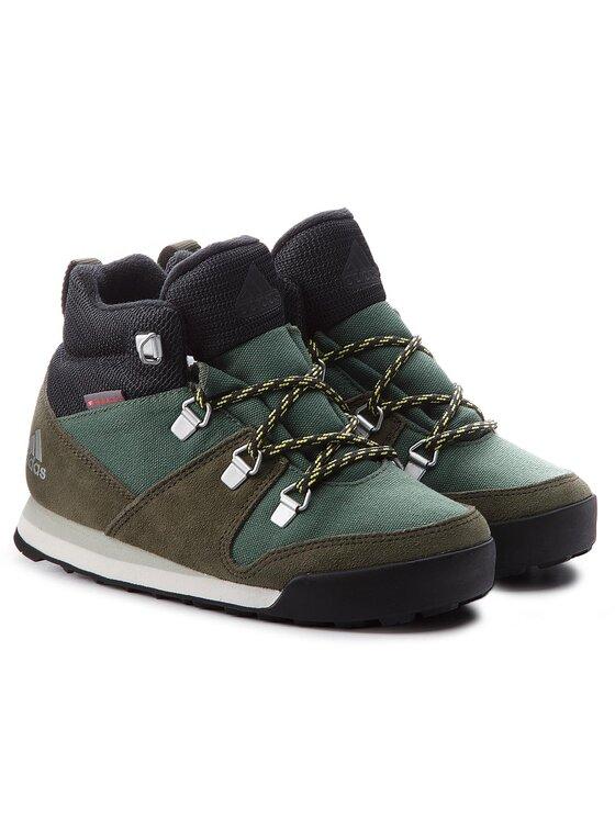 adidas adidas Обувки Cw Snowpitch K AC7963 Зелен