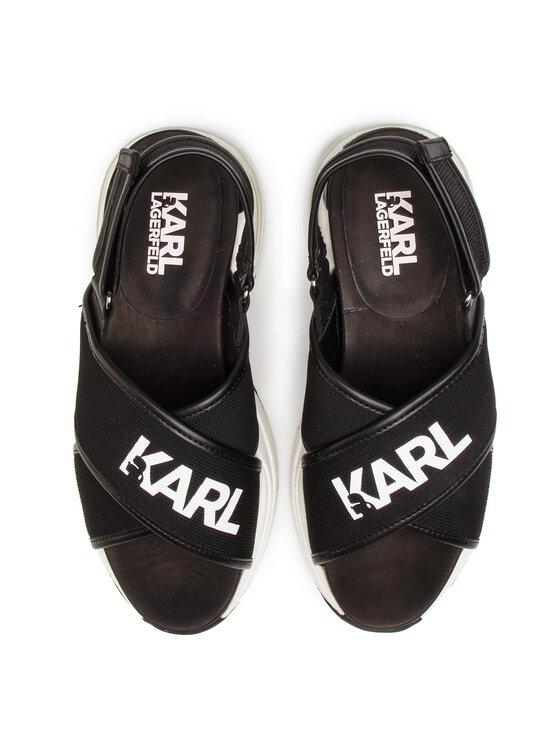 KARL LAGERFELD KARL LAGERFELD Sandali KL61705 Nero