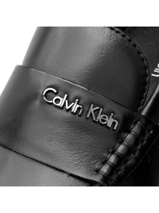 Calvin Klein Calvin Klein Mokasyny Saint O10906 Czarny