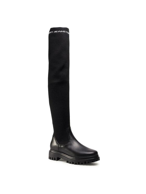 Tommy Jeans Batfortai Over The Knee Boot EN0EN01086 Juoda