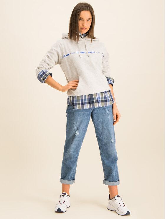 Tommy Jeans Tommy Jeans Μπλούζα Tjw Liner Logo DW0DW07798 Γκρι Regular Fit