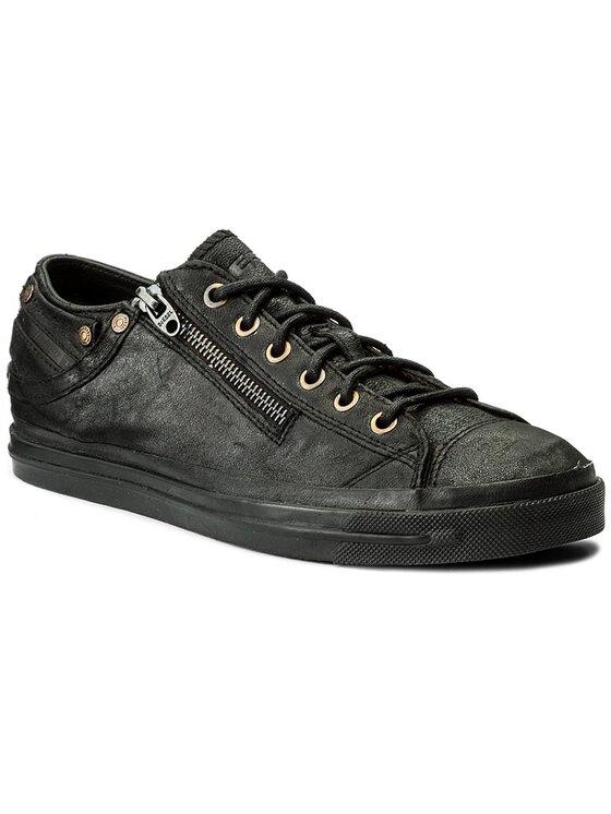 Diesel Diesel Sneakersy Expo-Zip Low Y01546 PR703 T8013 Černá