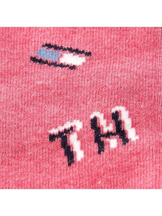 Tommy Hilfiger Tommy Hilfiger Súprava 2 párov vysokých detských ponožiek 474005001 Modrá
