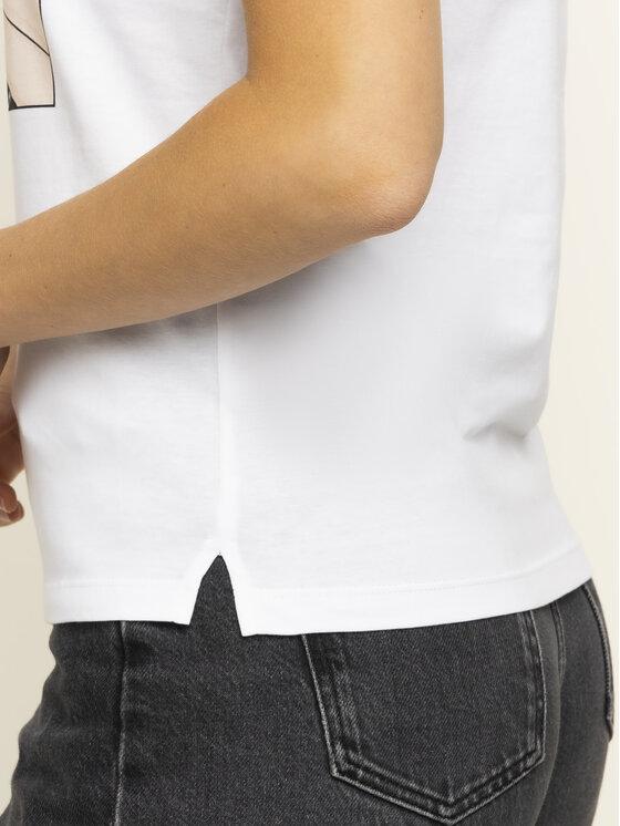Guess Guess Marškinėliai W01I0M I3Z00 Balta Regular Fit