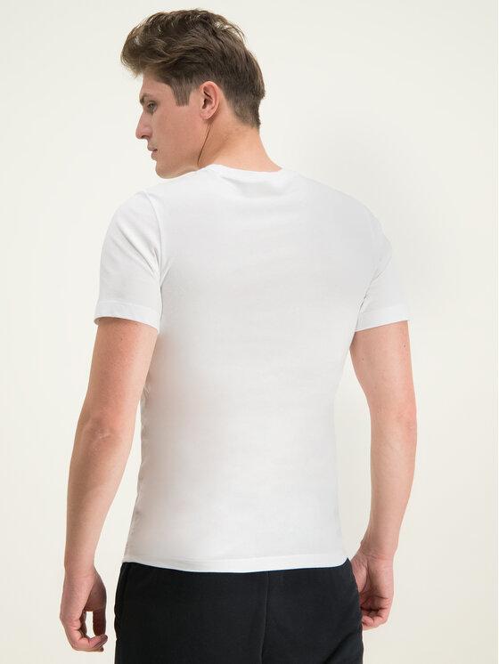 NIKE NIKE Póló Court CJ0429 Fehér Standard Fit