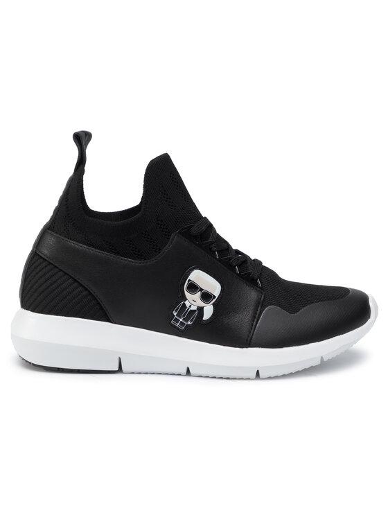 KARL LAGERFELD KARL LAGERFELD Sneakersy KL61126 Czarny
