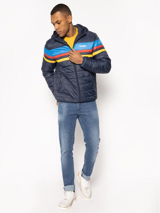 Wrangler Wrangler Μπουφάν πουπουλένιο Puffer W4C1X4114 Σκούρο μπλε Regular Fit