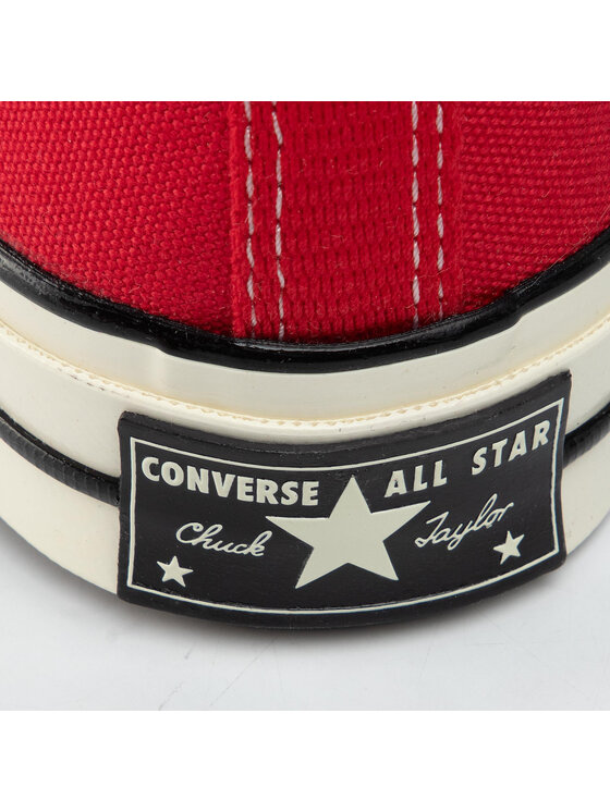 Converse Converse Trampki Chuck 70 Ox Enamel 164949C Czerwony