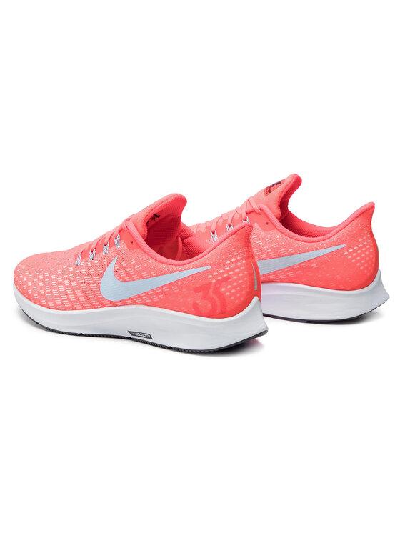 Nike Nike Buty Air Zoom Pegasus 35 942851 600 Pomarańczowy