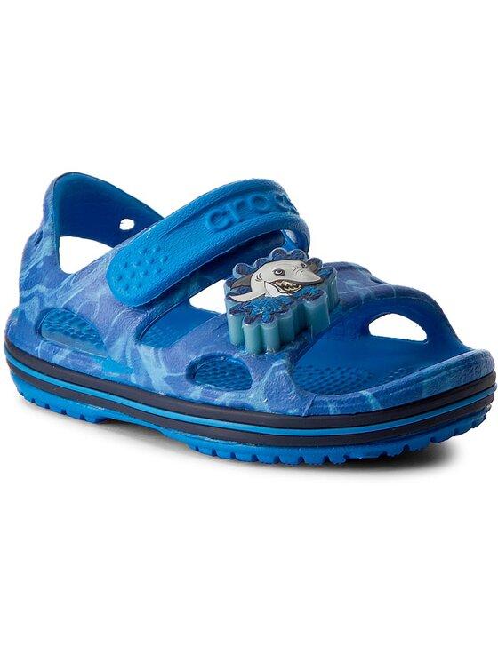 Crocs Basutės Crocband II Led Sandal 204106 Tamsiai mėlyna