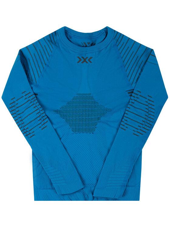 X-Bionic Termoaktyvus apatinis trikotažas, viršus Invent 4.0 INYT06W19J Mėlyna Slim Fit
