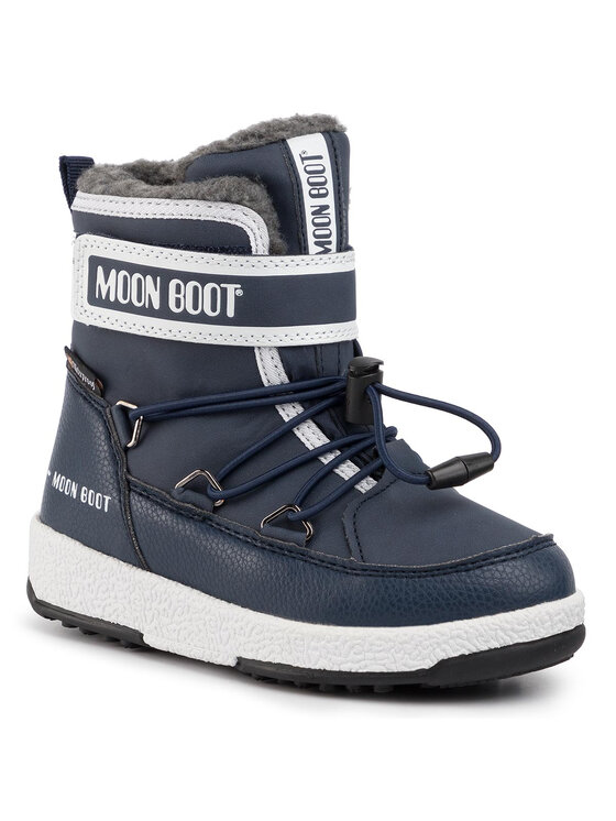 Moon Boot Sniego batai Jr Boy Boot Wp 34051600003 M Tamsiai mėlyna