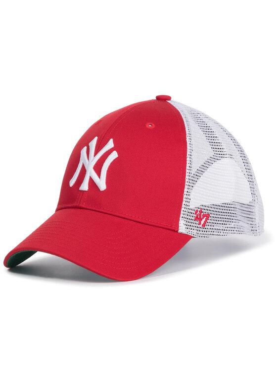 47 Brand Kepurė su snapeliu New York Yankees B-BRANS17CTP-RD Raudona