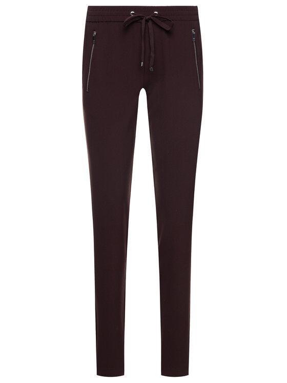 DKNY DKNY Pantaloni di tessuto P9GK3CMB Bordeaux Regular Fit