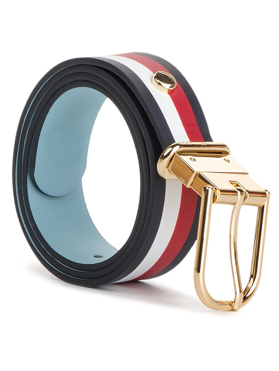 Tommy Hilfiger Tommy Hilfiger Curea de Damă New Fancy Reversible Belt 3.0 AW0AW06554 Albastru