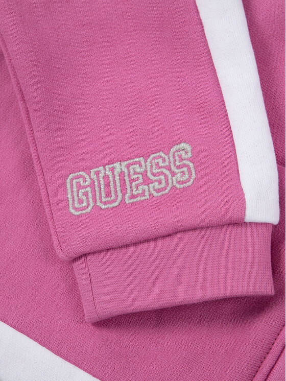 Guess Guess Анцуг A01G08 K82T0 Розов Regular Fit