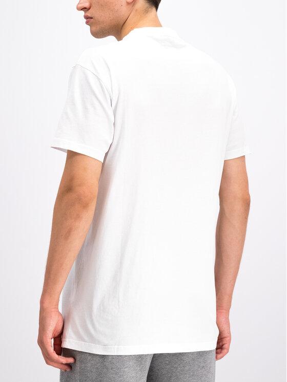 Napapijri Napapijri T-Shirt Sagar N0YHUD Biały Regular Fit