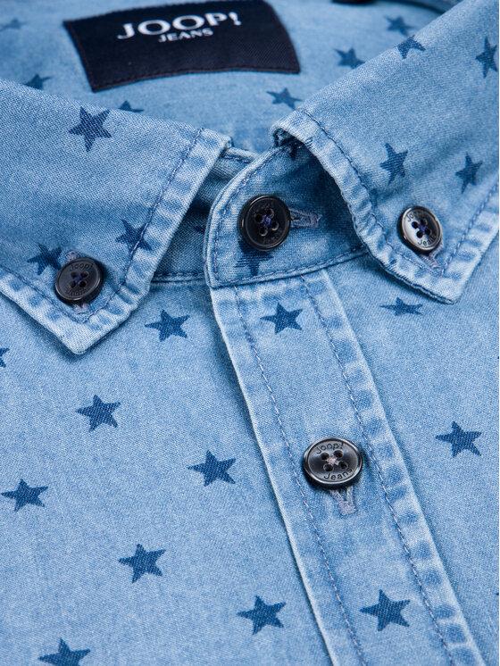 Joop! Jeans Joop! Jeans Πουκάμισο 30014422 Σκούρο μπλε Modern Fit