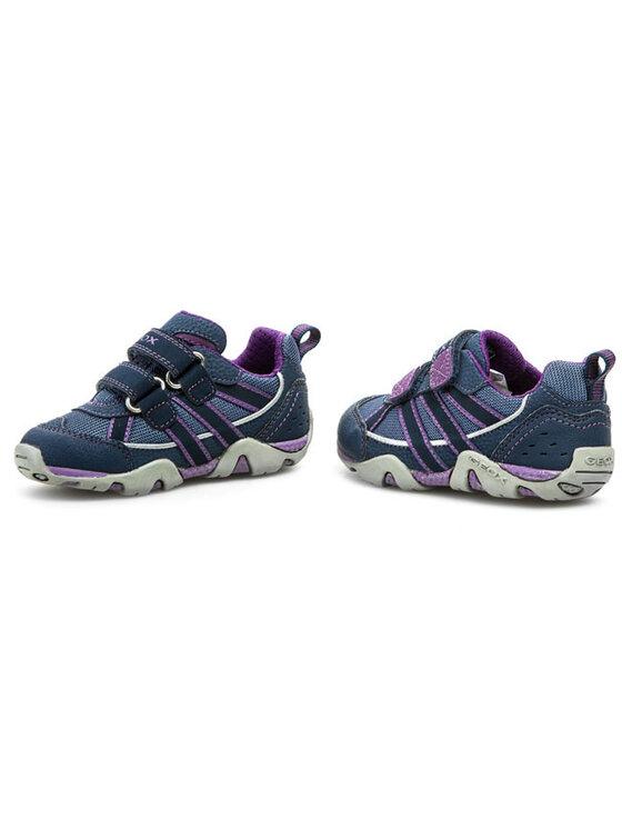 Geox Geox Félcipő J Aragon G.A J4203A 01150 C4005 Kék
