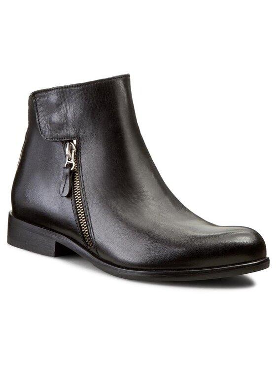 Carinii Carinii Členková obuv B2955 Čierna