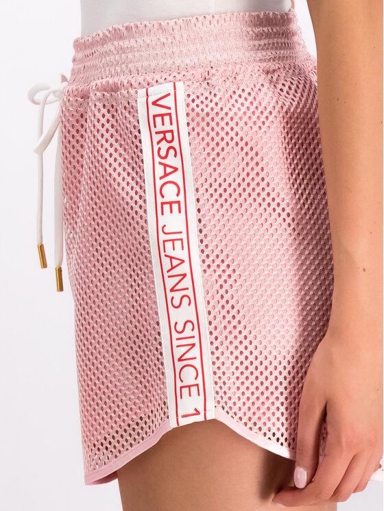 Versace Jeans Versace Jeans Szorty sportowe A3HTB177 Różowy Regular Fit