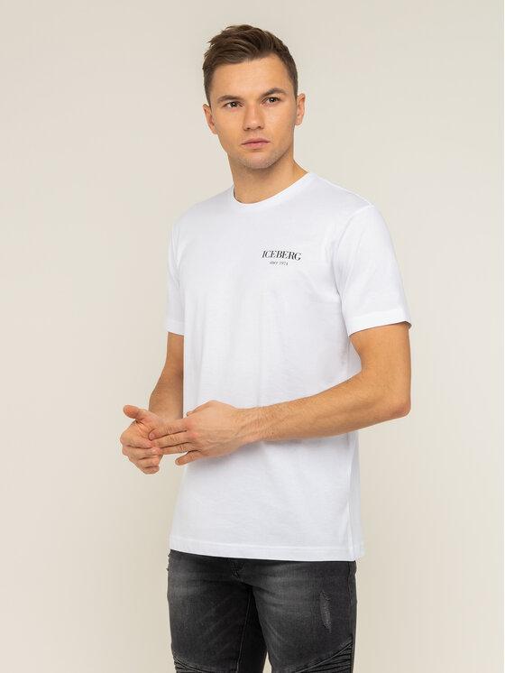Iceberg Iceberg T-shirt 20EI1P0F0296301 Beige Regular Fit