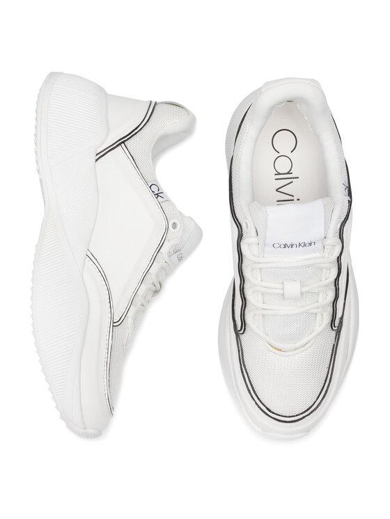 Calvin Klein Calvin Klein Sneakersy Bradie B4E1955 Biela