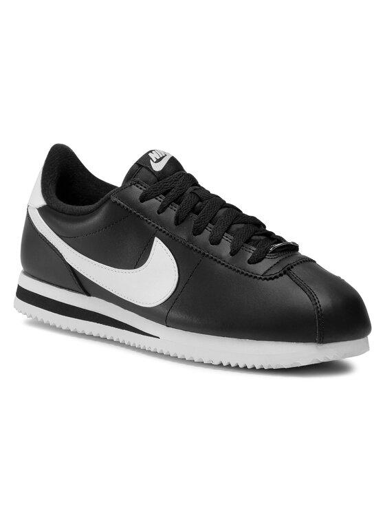 Nike Nike Обувки Cortez Basic Leather 819719 012 Черен