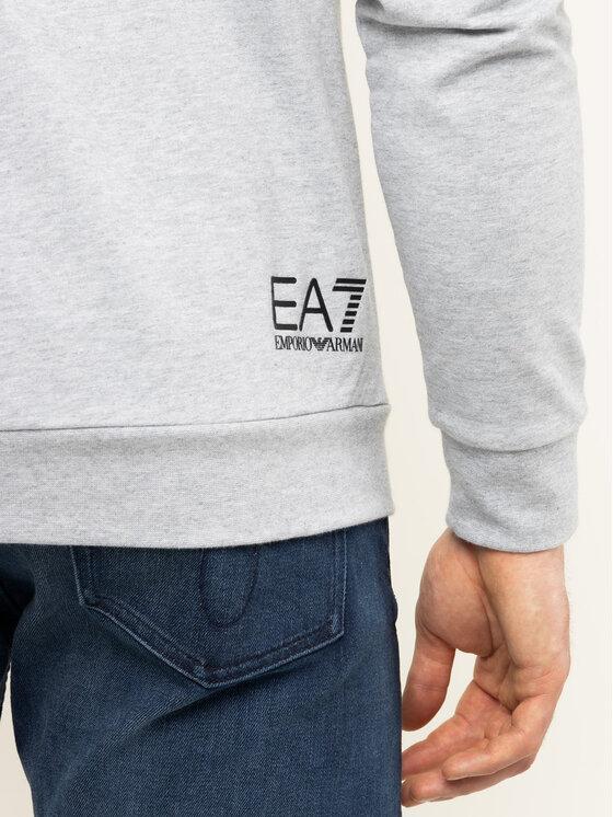 EA7 Emporio Armani EA7 Emporio Armani Bluza 3HPM28 PJ05Z 3904 Szary Regular Fit