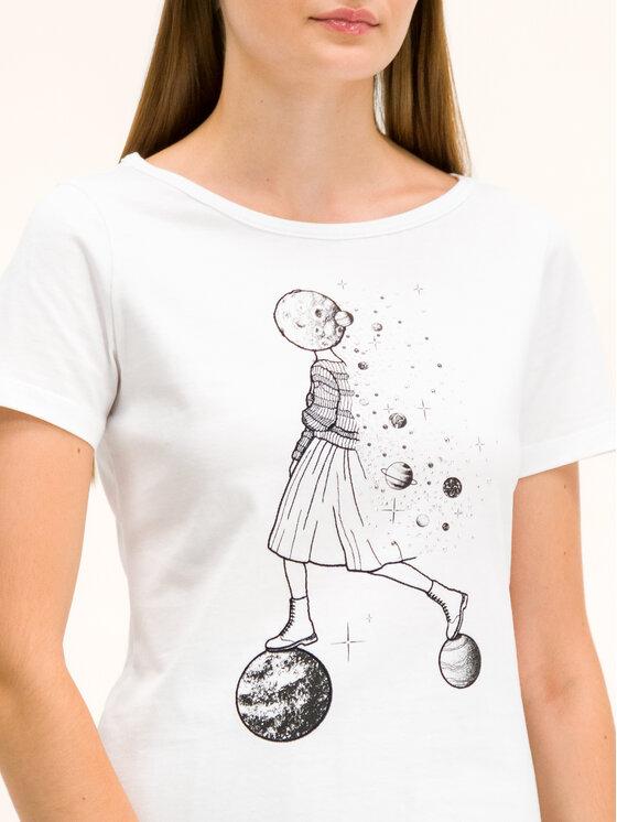 Pennyblack Pennyblack T-Shirt I9745019 Λευκό Regular Fit