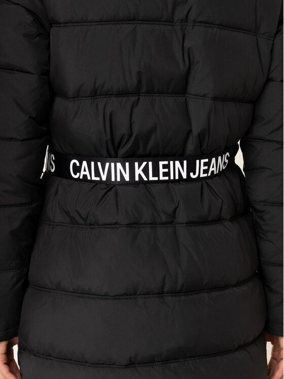 Calvin Klein Jeans Calvin Klein Jeans Daunenjacke Belted Puuffer J20J212531 Schwarz Regular Fit