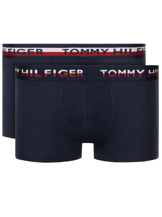 Tommy Hilfiger Tommy Hilfiger Komplet 2 par bokserek UM0UM00746 Granatowy Slim Fit