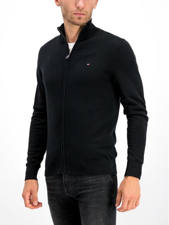 Tommy Hilfiger Tommy Hilfiger Sweater Organic Cotton MW0MW10864 Fekete Regular Fit