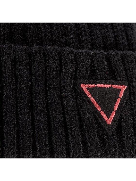 Guess Guess Čiapka Country & Western-Not Coordinated Wool AM6518 WOL01 Čierna