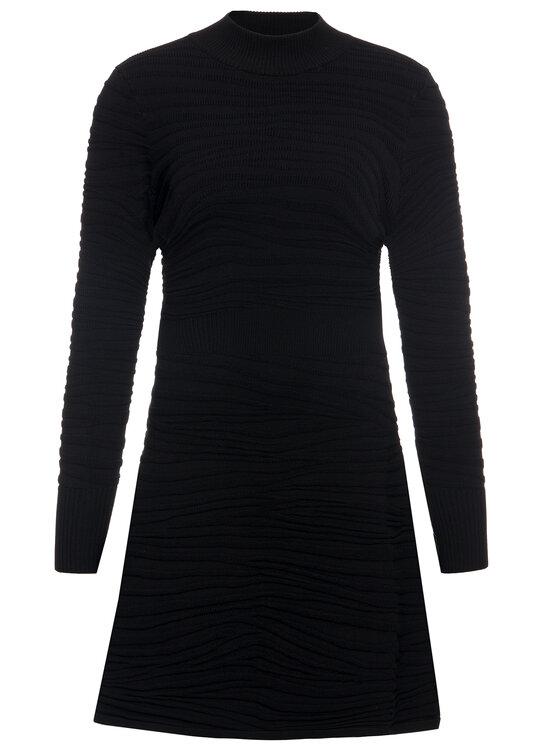 Hugo Hugo Úpletové šaty Sumeeya 50430666 Čierna Slim Fit