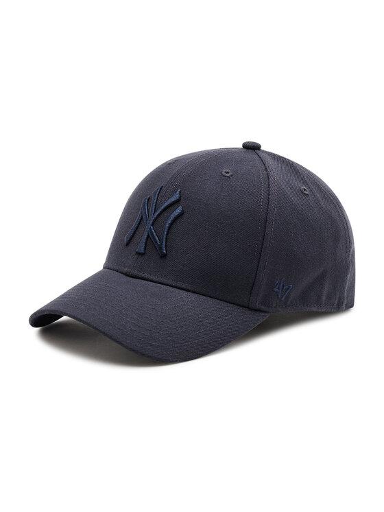 47 Brand Kepurė su snapeliu New York Yankees B-MVPSP17WBP-NYA Tamsiai mėlyna