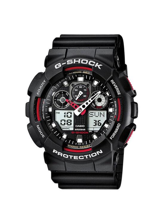 G-Shock Laikrodis GA-100-1A4ER Juoda