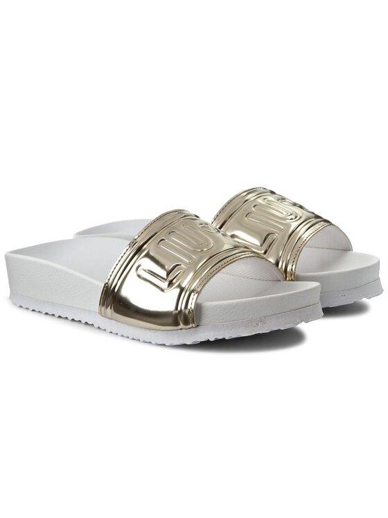 Liu Jo Liu Jo Ciabatte Pool Slides Sandals S17045 E0380 Oro