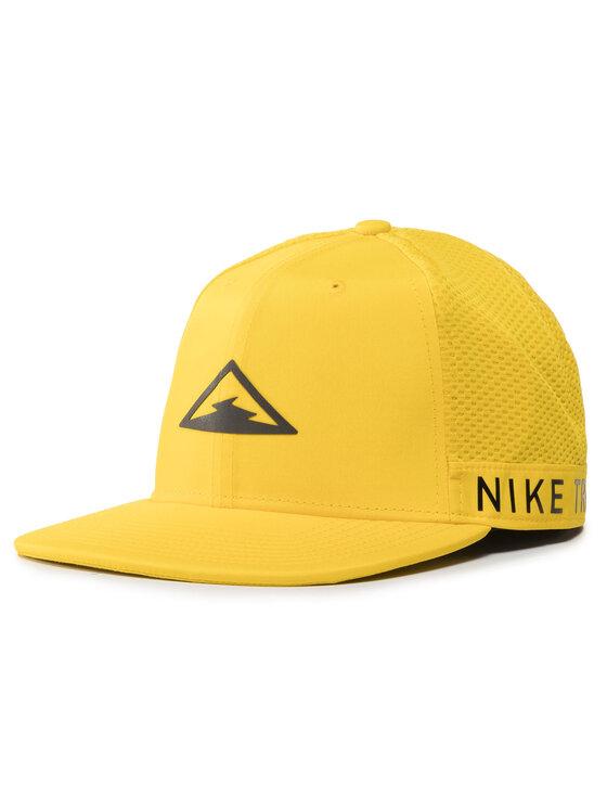 Nike Nike Czapka z daszkiem CU6276 735 Żółty