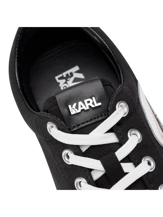 KARL LAGERFELD KARL LAGERFELD Tornacipő KL50120 Fekete