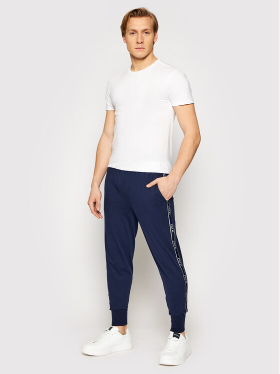 Polo Ralph Lauren Polo Ralph Lauren Spodnie dresowe Spn 714830276003 Granatowy Regular Fit