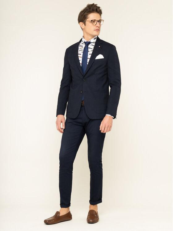 Emanuel Berg Emanuel Berg Риза Harvard PEB46192 Бял Slim Fit