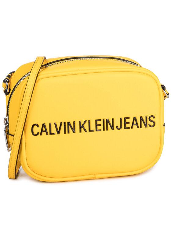 Calvin Klein Jeans Calvin Klein Jeans Torebka Sculpted Camera Bag K60K605791 Żółty