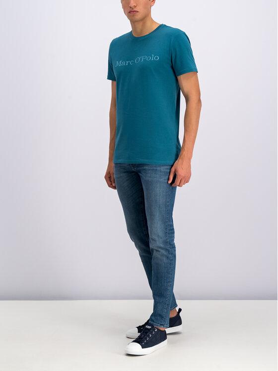 Marc O'Polo Marc O'Polo T-Shirt 927 2220 51230 Blau Regular Fit
