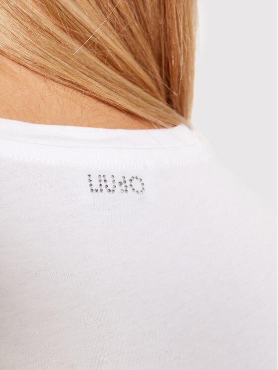 Liu Jo Liu Jo T-shirt WF1254 J0166 Bijela Regular Fit