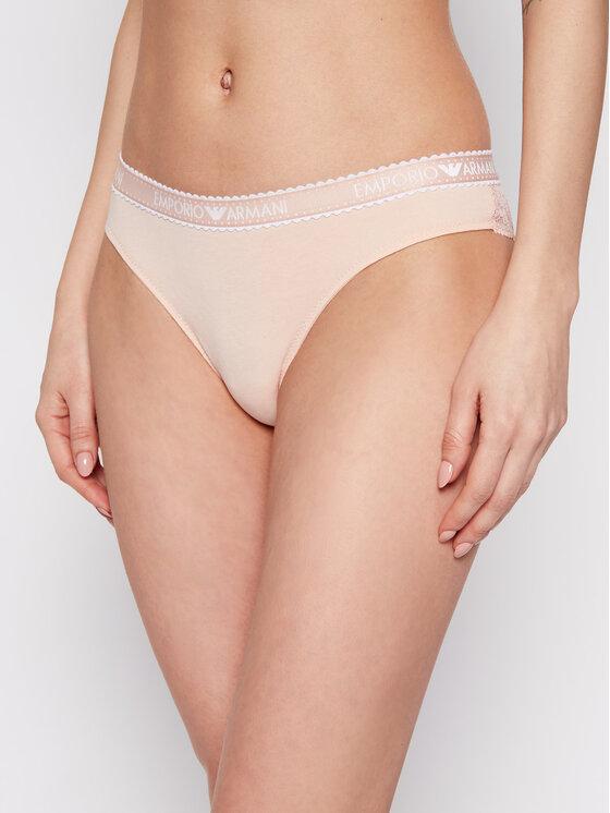 Emporio Armani Underwear Braziliškos kelnaitės 162948 1P222 00071 Oranžinė