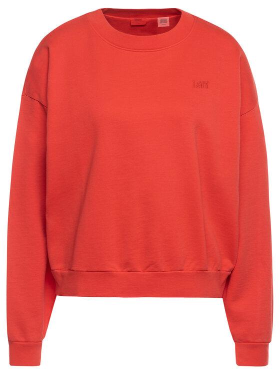 Levi's® Levi's® Bluză Diana Crew 85630-0000 Roșu Regular Fit