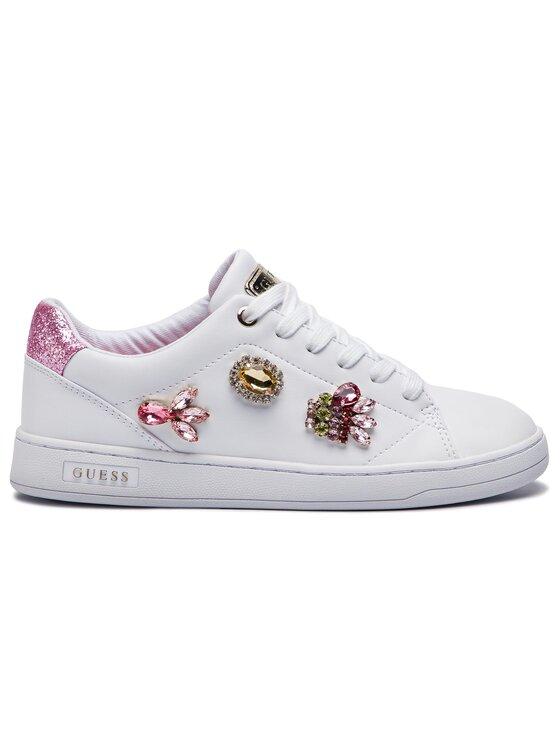 Guess Guess Sneakersy FL5CRE ELE12 Biały